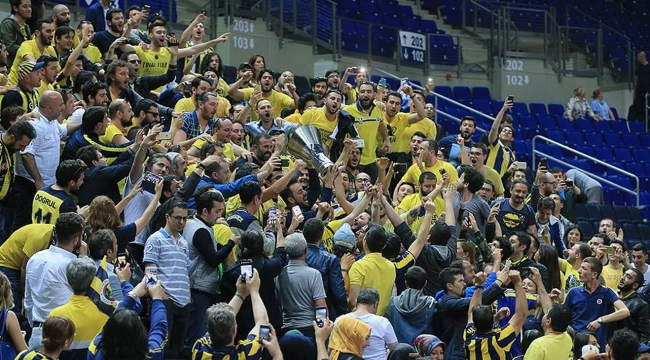 Fenerbahçeden basketbolda kombine rekoru