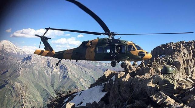 PKKlı teröristlerin bombalı eylem planı çöktü