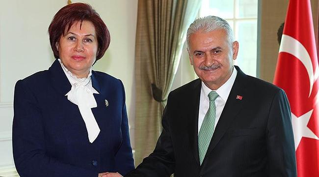 Başbakan Yıldırım, Danıştay Başkanı Güngörü kabul etti