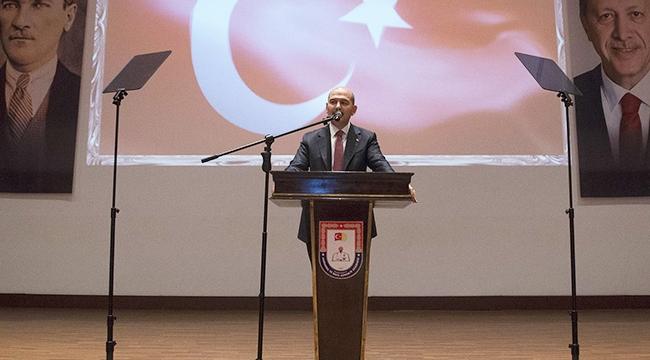 İçişleri Bakanı Soylu tecrübe paylaşımı konferansına katıldı
