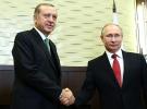 Cumhurbaşkanı Erdoğan, Putin ile Türk Akım'ı görüştü