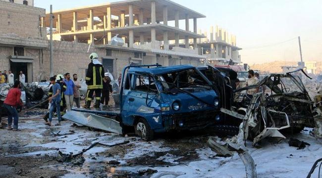 İdlibde patlama: 10 ölü, 16 yaralı