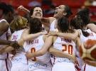 Avrupa Kadınlar Basketbol Şampiyonası kupası İspanya'nın