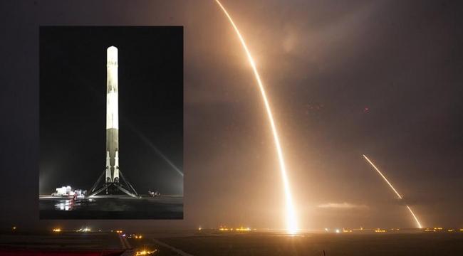 SpaceX 3 günde 2 uçuş gerçekleştirdi