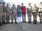 Diyarbakır'daki askere bayram sürprizi