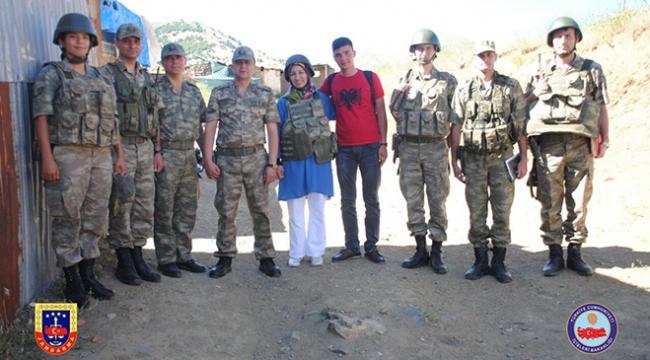 Diyarbakırdaki askere bayram sürprizi