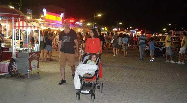 Tatilciler bayram tatilinde Kuzey Egeye koştu