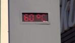Bu ilde termometreler 60 dereceyi gösterdi
