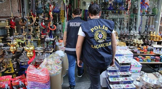 Fatihte 500 polisle kaçak ürün operasyonu