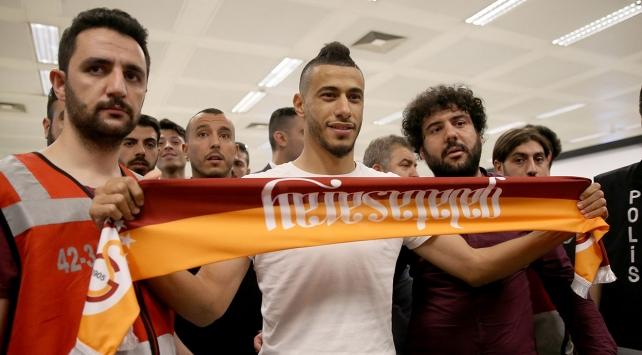 Belhanda Galatasaray için İstanbulda