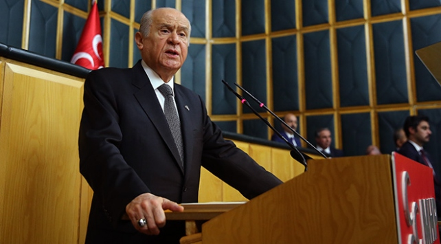 MHP Genel Başkanı Bahçeliden erken seçim çağrısı