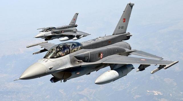 Irakın kuzeyine hava harekatı: 12 hedef imha edildi