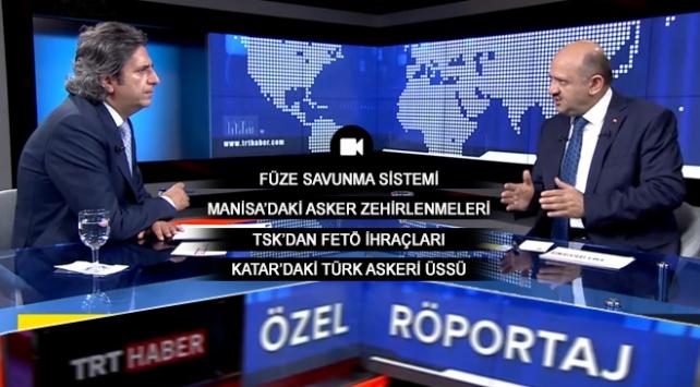Milli Savunma Bakanı Fikri Işık TRT Habere konuştu