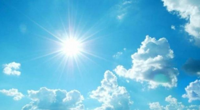 Doğu Anadoluda sıcaklıklar mevsim normallerinin üzerinde