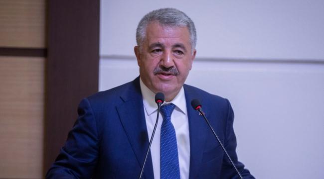 Ulaştırma, Denizcilik ve Haberleşme Bakanı Arslan: Dünyanın bütün postasına yön veren ülkeyiz