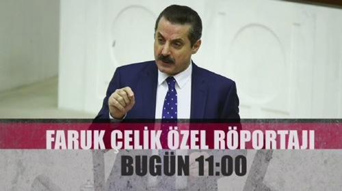 Gıda, Tarım ve Hayvancılık Bakanı Faruk Çelik, Özel Röportajı bugün TRT Haber'de