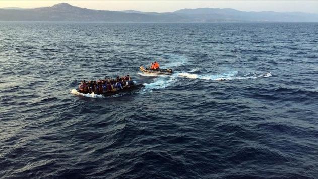 Akdenizde yine kaçak göçmen dramı yaşandı