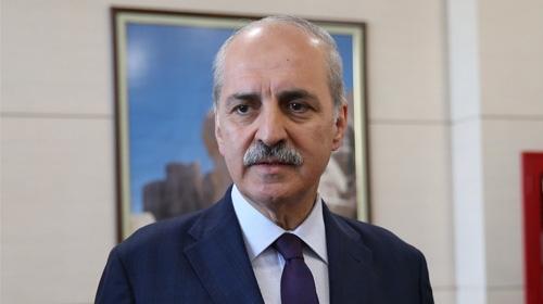 Kurtulmuş, TRT'nin yeni Genel Müdürü İbrahim Eren'i tebrik etti