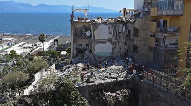 İtalyada çöken apartmandan sağ çıkan olmadı