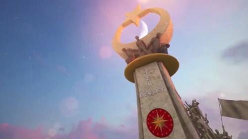 Şehitler için Ankara ve İstanbul'da anıtlar yapıldı