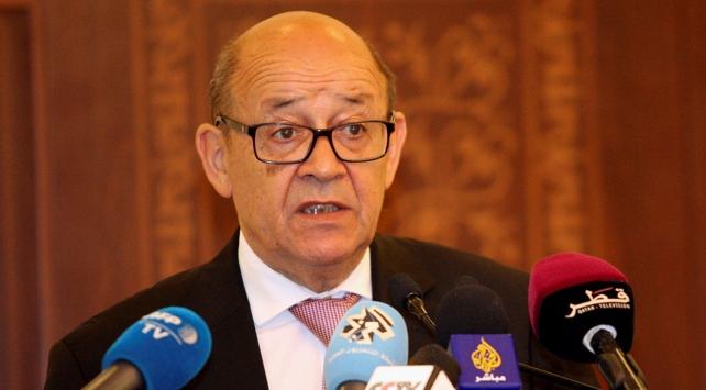 Fransa Dışişleri Bakanı, Suudi Arabistan Veliaht Prensi ile görüştü