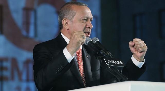 Cumhurbaşkanı Erdoğan, Gazi Mecliste Şehitleri Anma Töreninde konuştu