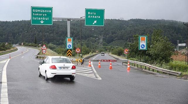 Anadolu Otoyolu İstanbul-Ankara istikameti trafiğe açıldı