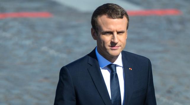 """Fransa Cumhurbaşkanı Macrondan """"Trump"""" açıklaması"""