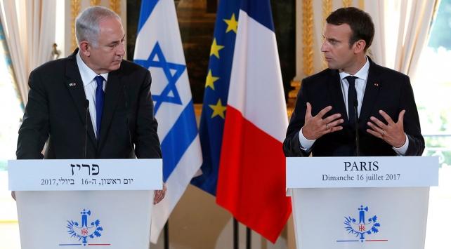 Fransa Cumhurbaşkanı Macron, Orta Doğuda barış çağrısında bulundu