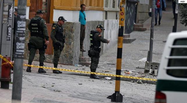 Kolombiyada korkutan patlama: 26 yaralı