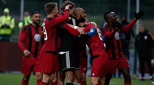Galatasarayın rakibi Östersunds evinde kazandı