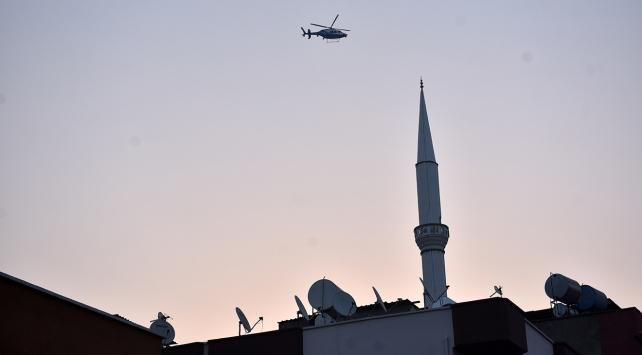 Nevşehirde helikopter destekli uyuşturucu operasyonu
