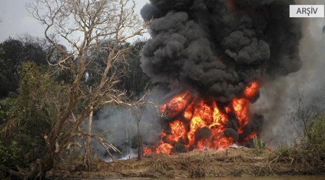 Nijeryada petrol kuyusunda yangın: 30 ölü