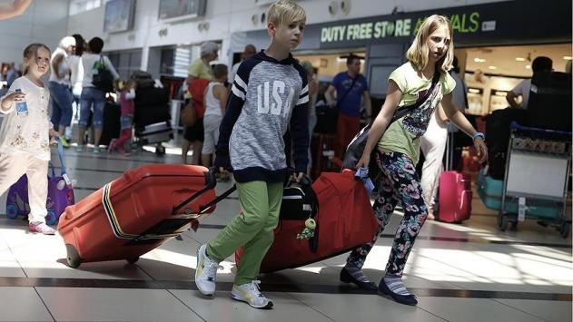 Rusların tatil için tercihi yine Türkiye oldu