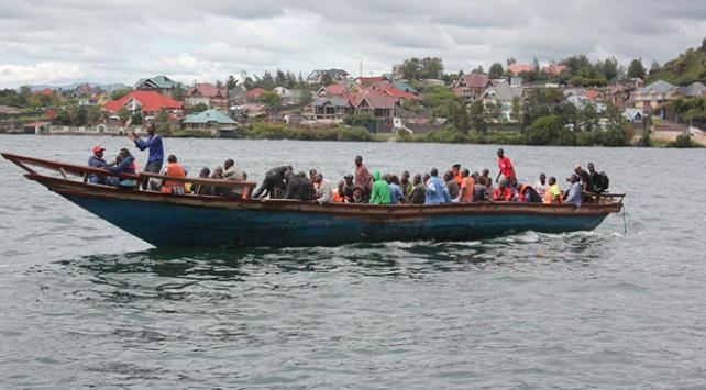 Kongo Demokratik Cumhuriyetinde tekne faciası