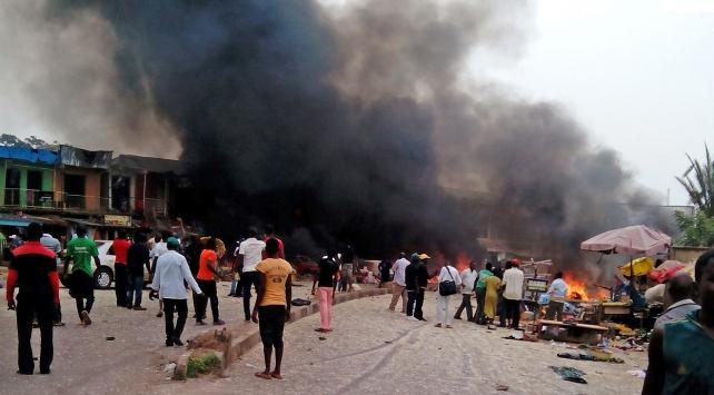 Nijeryada cami yakınında intihar saldırısı: 8 ölü