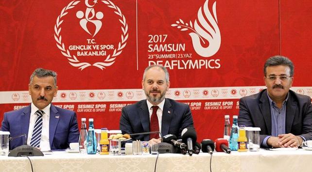 Türkiye olarak 294 sporcu ile mücadele edeceğiz