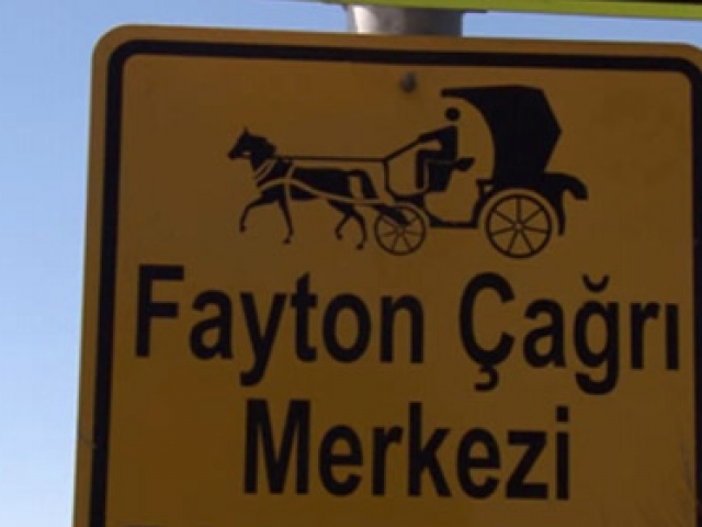 İzmirde faytonlar için çağrı merkezi kuruldu