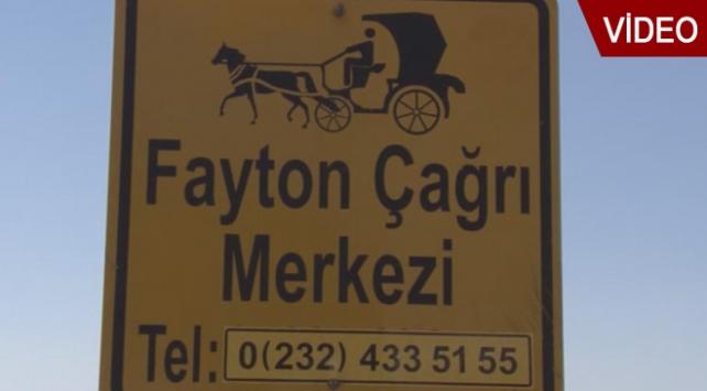 Faytonlar için çağrı merkezi kuruldu