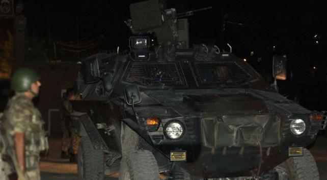 Tuncelide taciz ateşi açan teröristlere karşı operasyon başlatıldı
