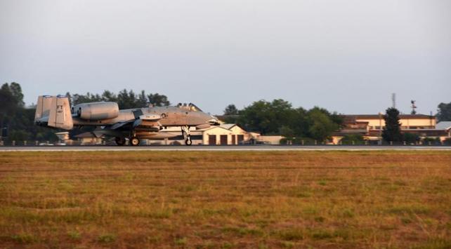 İncirlik Üssüne 3 savaş uçağı takviyesi