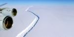 Antarktikadan kopan dev buz dağı kıyıdan açılıyor
