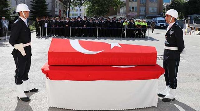 Şehit polis Kurşun son yolculuğuna uğurlandı