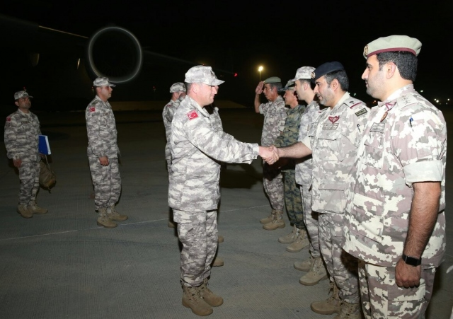 Katar'daki TSK unsurları