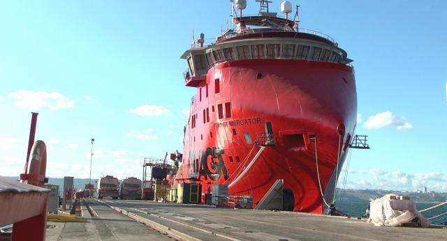 Rüzgar güllerinin bakım gemileri Yalova'dan