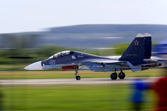 Moskova'da MAKS 2017 havacılık fuarı