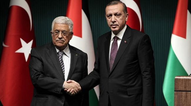 Cumhurbaşkanı Erdoğandan Abbasa Mescid-i Aksa telefonu