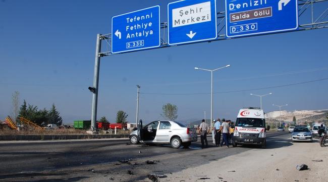 İki otomobil kafa kafaya çarpıştı: 4 ölü, 2 yaralı