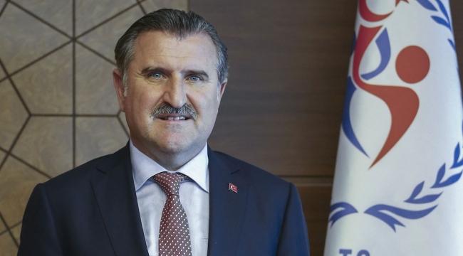 Bakan Osman Aşkın Bak, Sezgin Ataçı kutladı