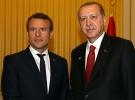 Cumhurbaşkanı Erdoğan, Macron'la telefonda görüştü